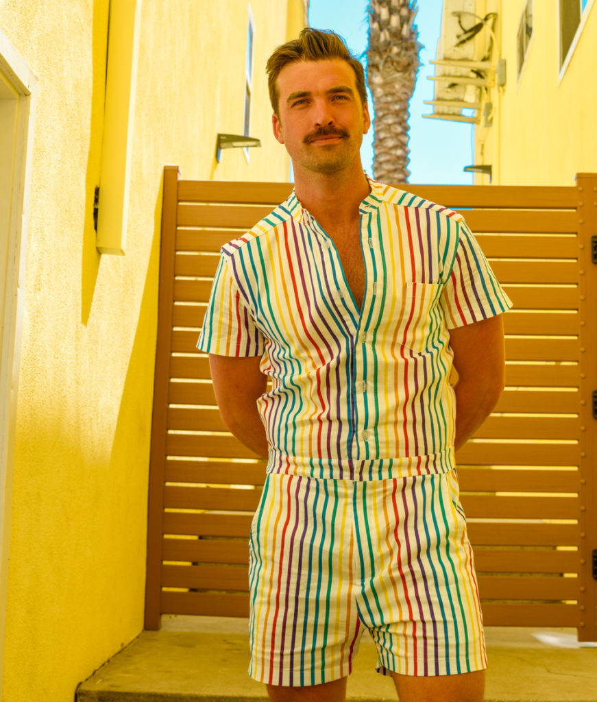 c71cf0c33f1 The RompHim Pride collection is the perfect way to show your pride and  support Trevor s programs while having a bit of romping good fun.