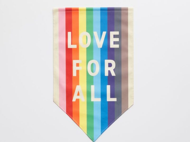 Pottery Barn Love for All Pride Flag