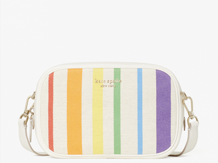 Kate Spade rainbow purse