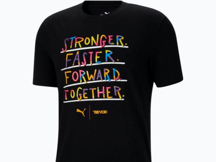 Puma x Trevor Project T shirt