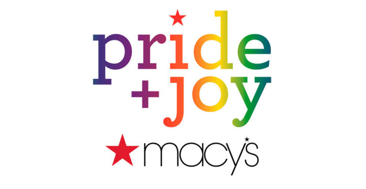 Logo of pride + joy Macy's