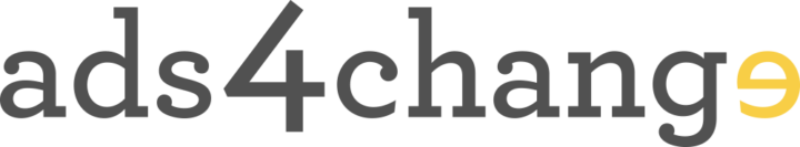 Ads 4 Change logo